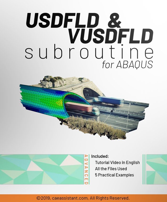 USDFLD AND VUSDFLD SUBROUTINES in ABAQUS