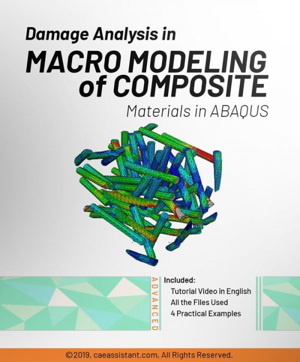 Damage Analysis in Macro modeling of Composite Materials in ABAQUS