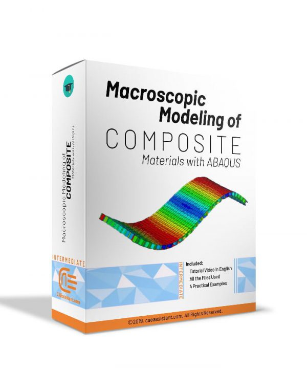 Macroscopic modeling of composite material with ABAQUS