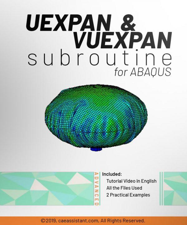 UEXPAN and VUEXPAN SUBROUTINE