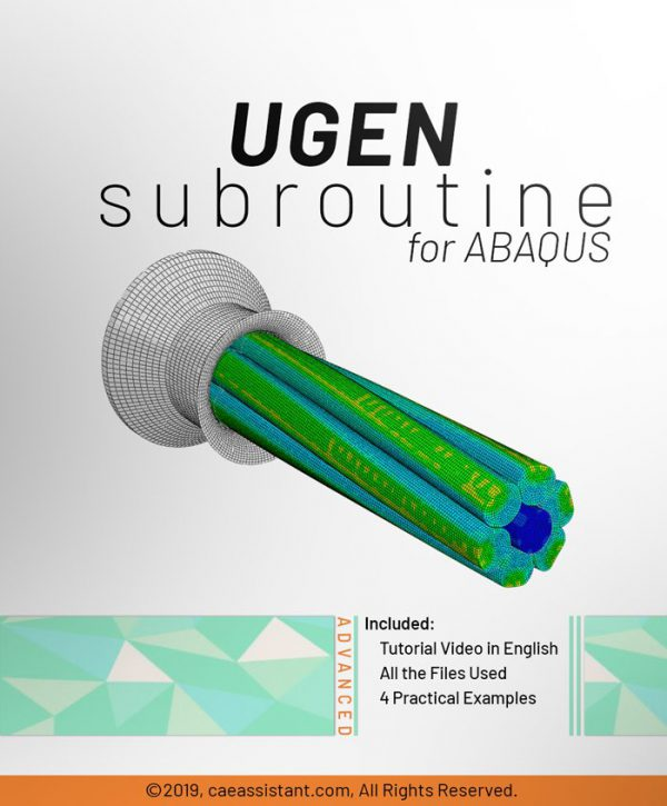 UGEN and Subroutine in ABAQUS