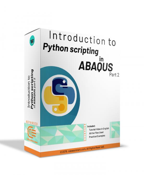 Python scripting in ABAQUS Part2-P