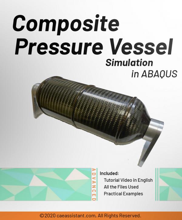 Composite pressure vessel in ABAQUS-Front