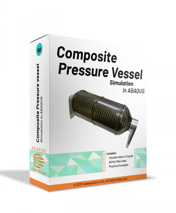 Composite pressure vessel in ABAQUS-package