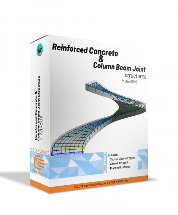 Concrete reinforcement and column beam joint structures in ABAQUS-package
