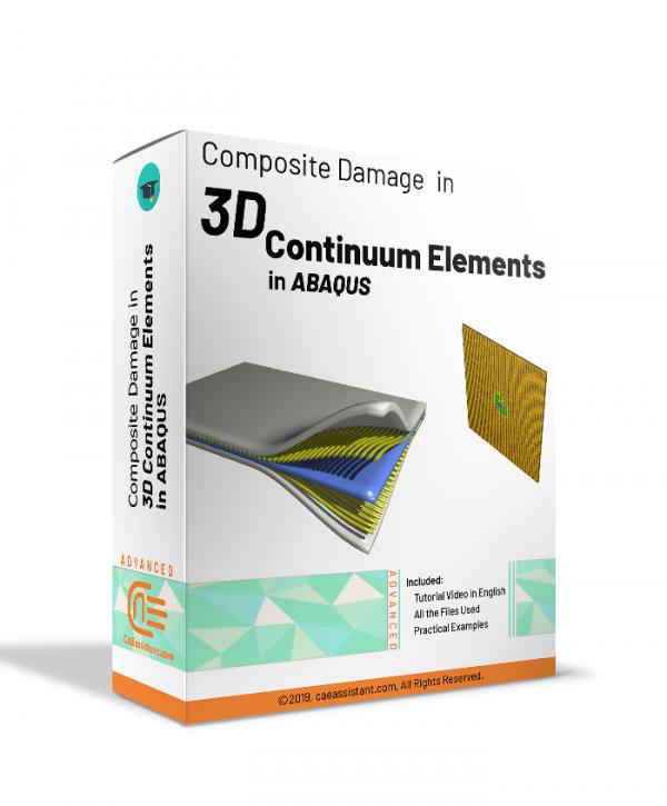 3D continuum Composite Damage in ABAQUS