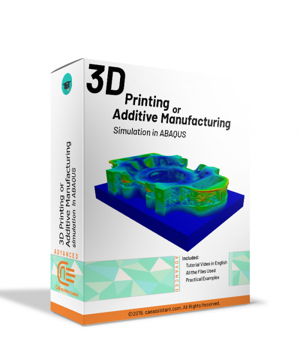 3D printing or additive manufacturing simulation in ABAQUS-package