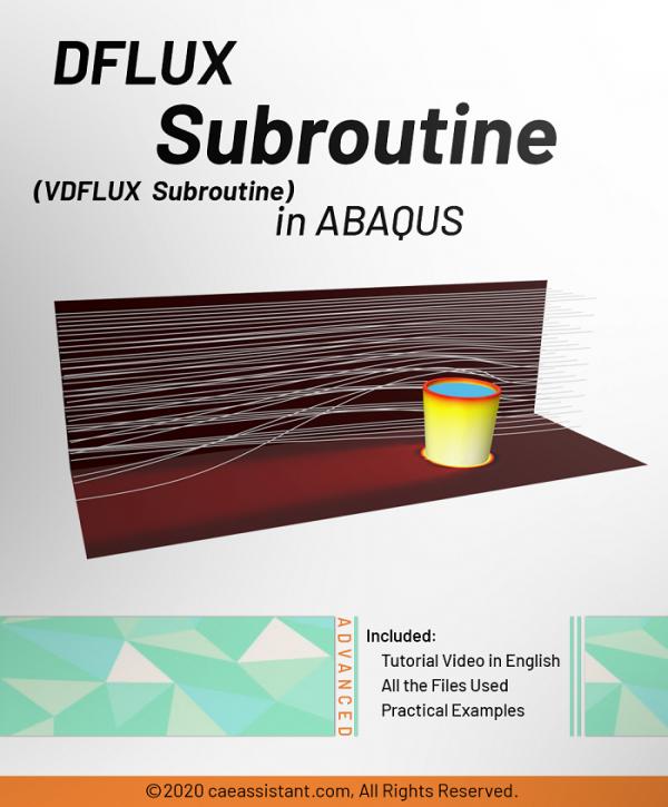 DFLUX subroutine in ABAQUS-Front