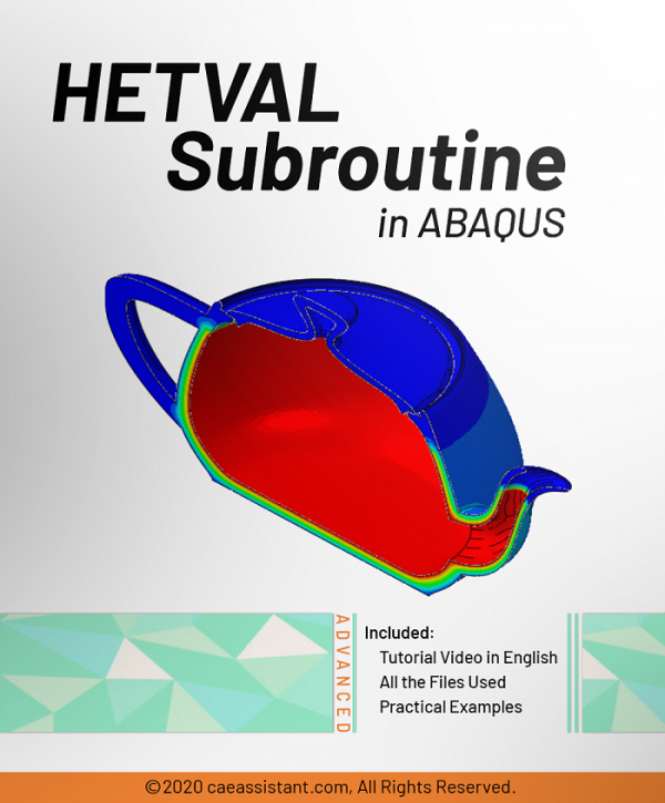 HETVAL Subroutine in ABAQUS-Front