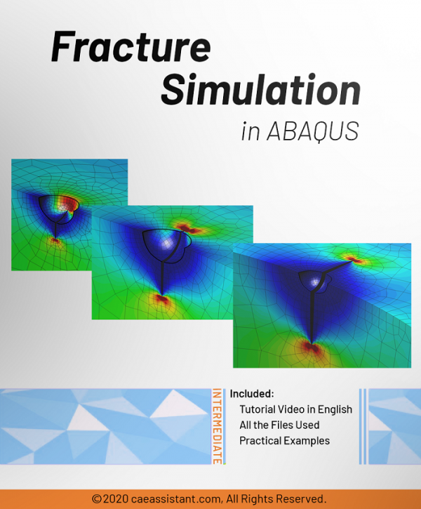 Fracture simulation in ABAQUS-Front