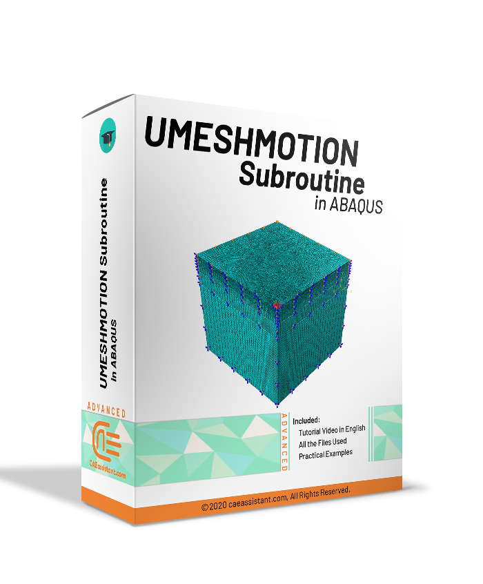 UMESHMOTION Subroutine in ABAQUS-package