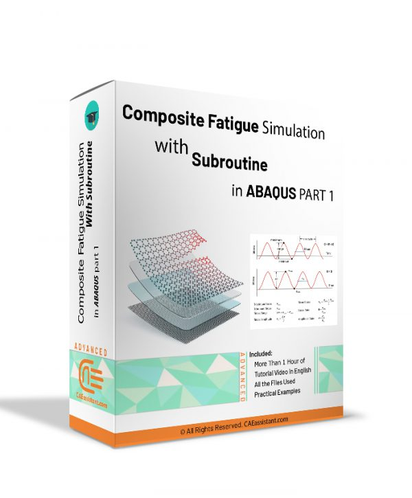 Composite Fatigue Simulation with Subroutine in ABAQUS-Package