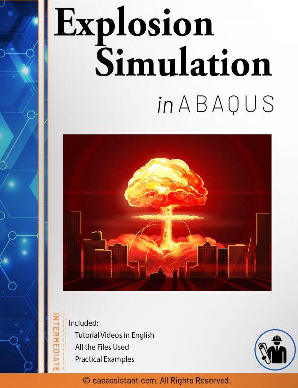 explosion simulation in Abaqus - front