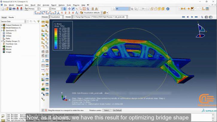 optimization analysis in ABAQUS-workshop1