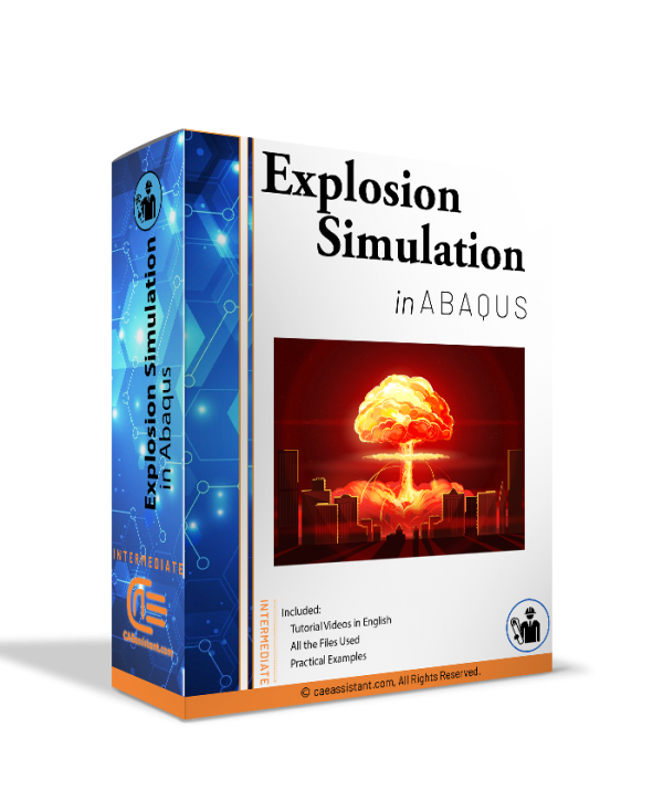 explosion simulation in Abaqus - package