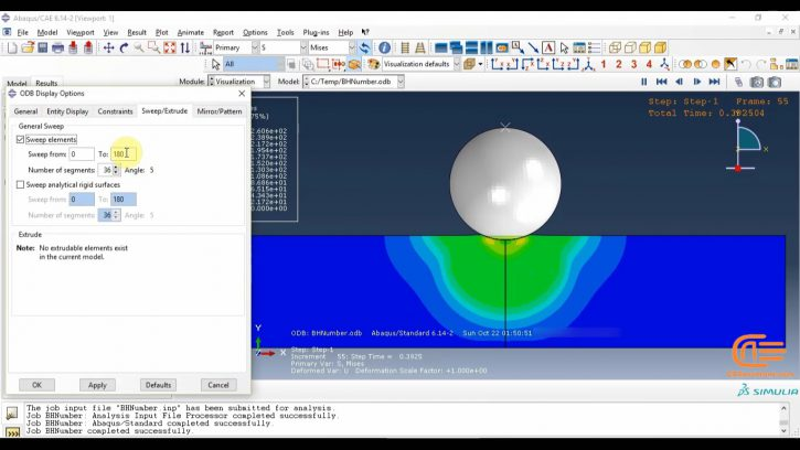Simulation of forming in ABAQUS-1