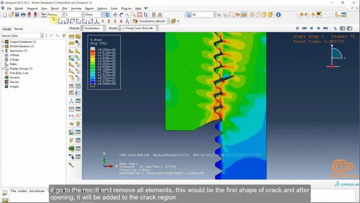Simulation of Fracture in Abaqus-2