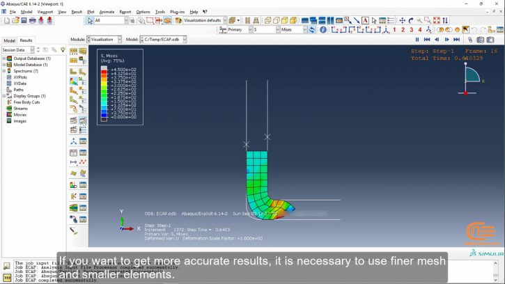 Simulation of forming in ABAQUS-4