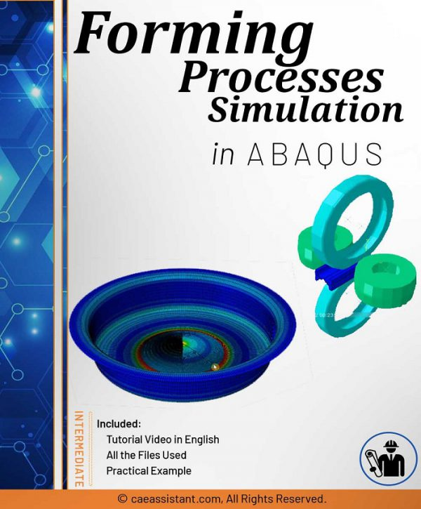 Simulation of forming in ABAQUS-Front