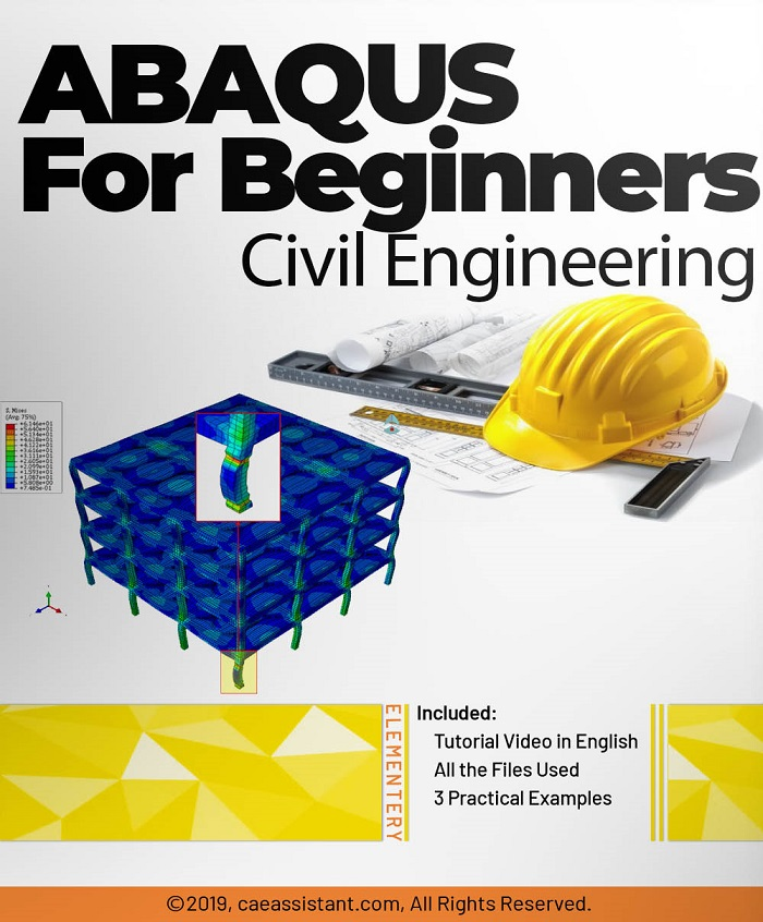 Abaqus for beginners (Structural engineers in the field of civil engineering)-Front