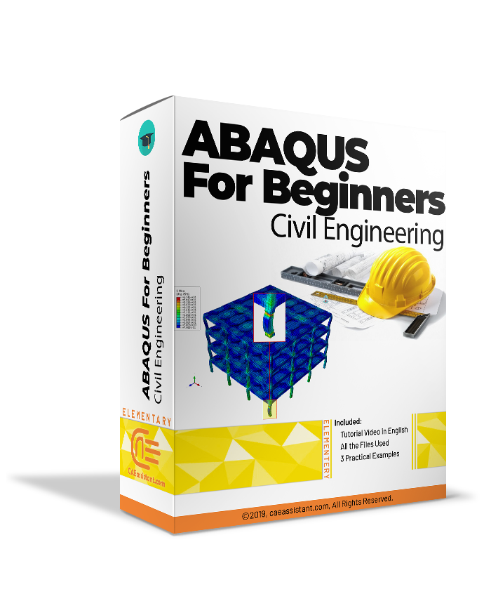 Abaqus for beginners (Structural engineers in the field of civil engineering)-package